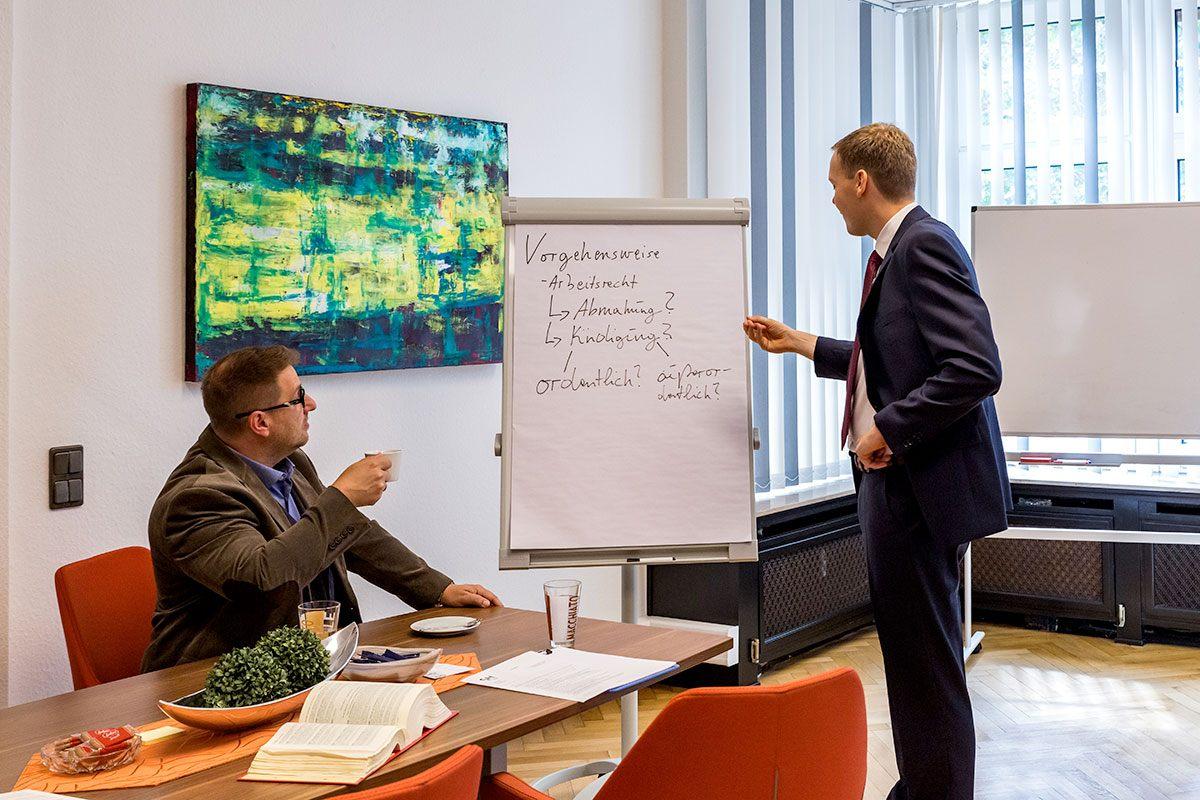 Beratung rund um das Thema Arbeitsrecht und Kündigungen
