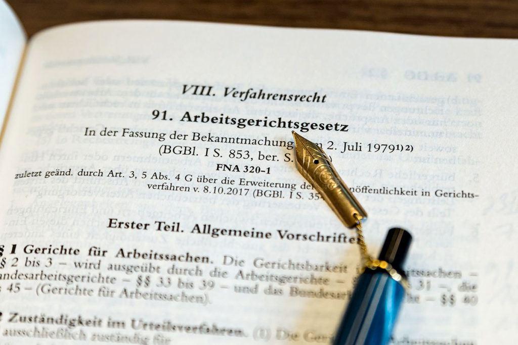 Anwalt für Arbeitsrecht in Viersen