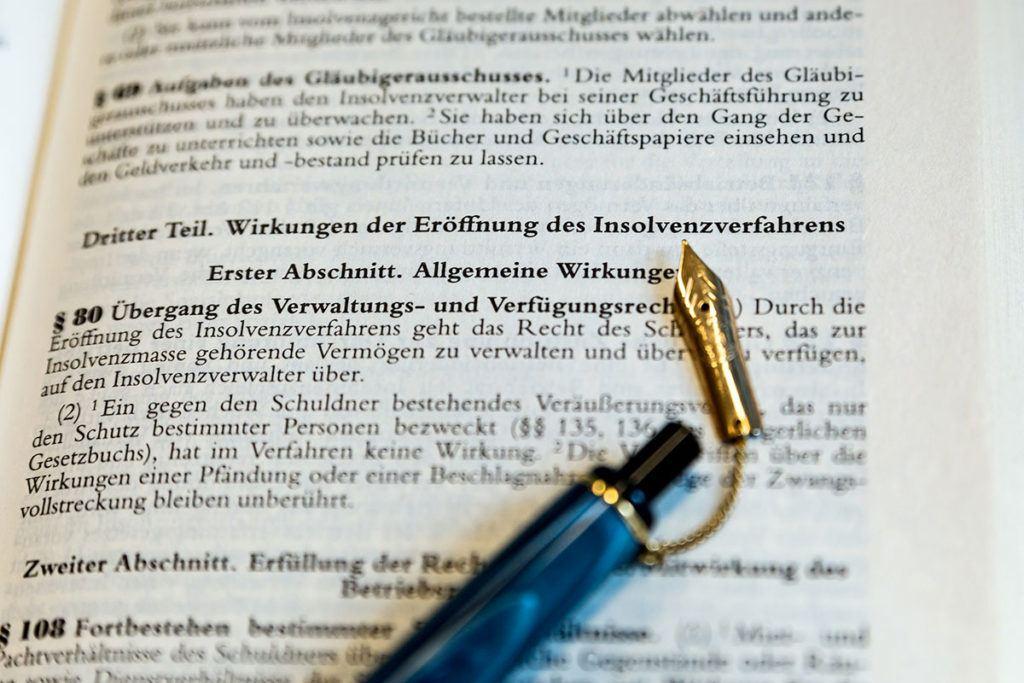 Anwalt für Insolvenzrecht in Viersen