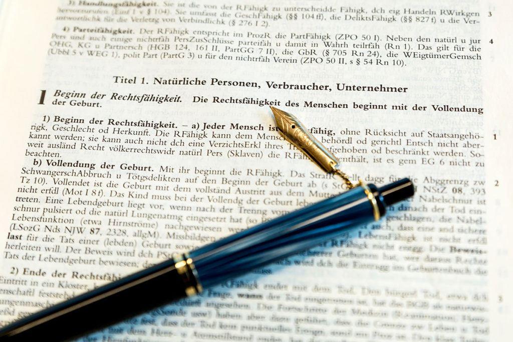 Anwalt für Zivilrecht in Viersen